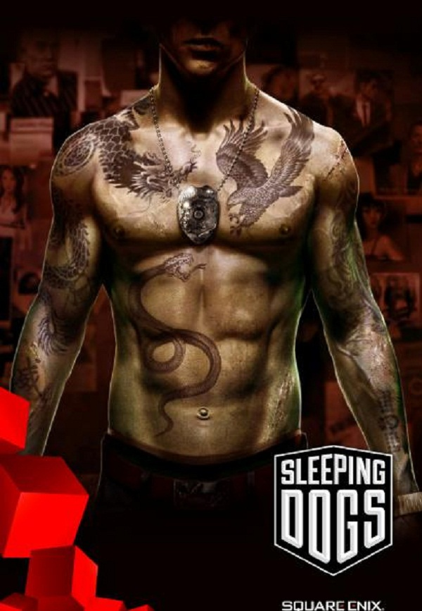 The official poster for Sleeping Dogs, the reincarnation of True Crime: Hong Kong.