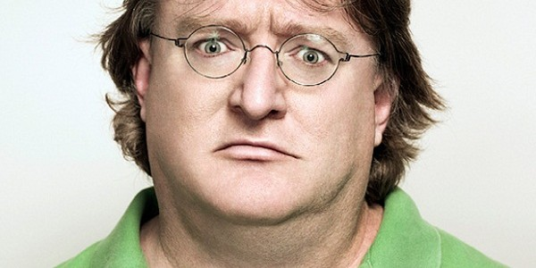 Gabe Newell&#039;s vocal reaction is pretty similar to this facial one.