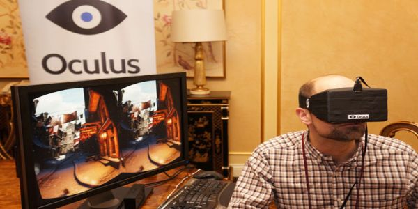 Oculus Rift demo photo
